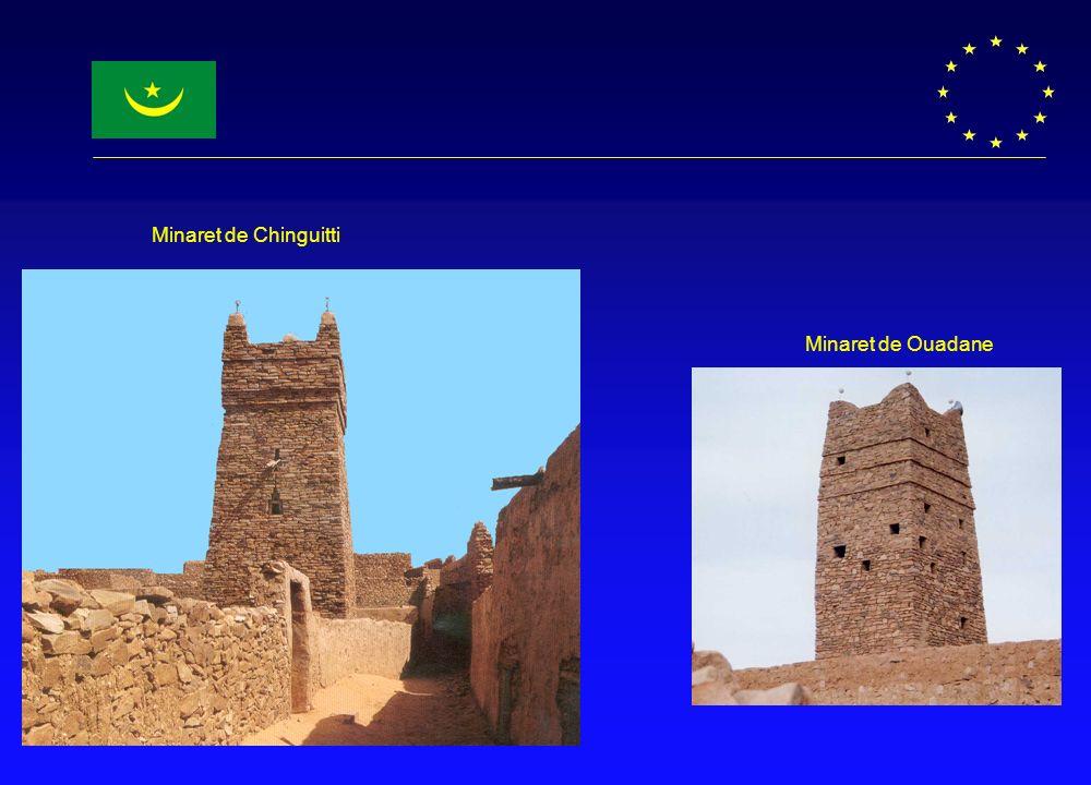 Minaret de Chinguitti Minaret de Ouadane