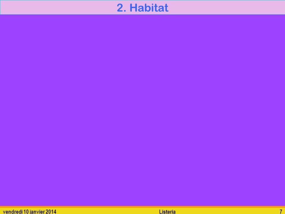 2. Habitat dimanche 26 mars 2017 Listeria