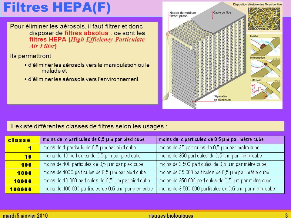 Filtres HEPA(F)