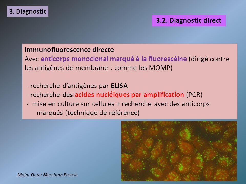 Immunofluorescence directe