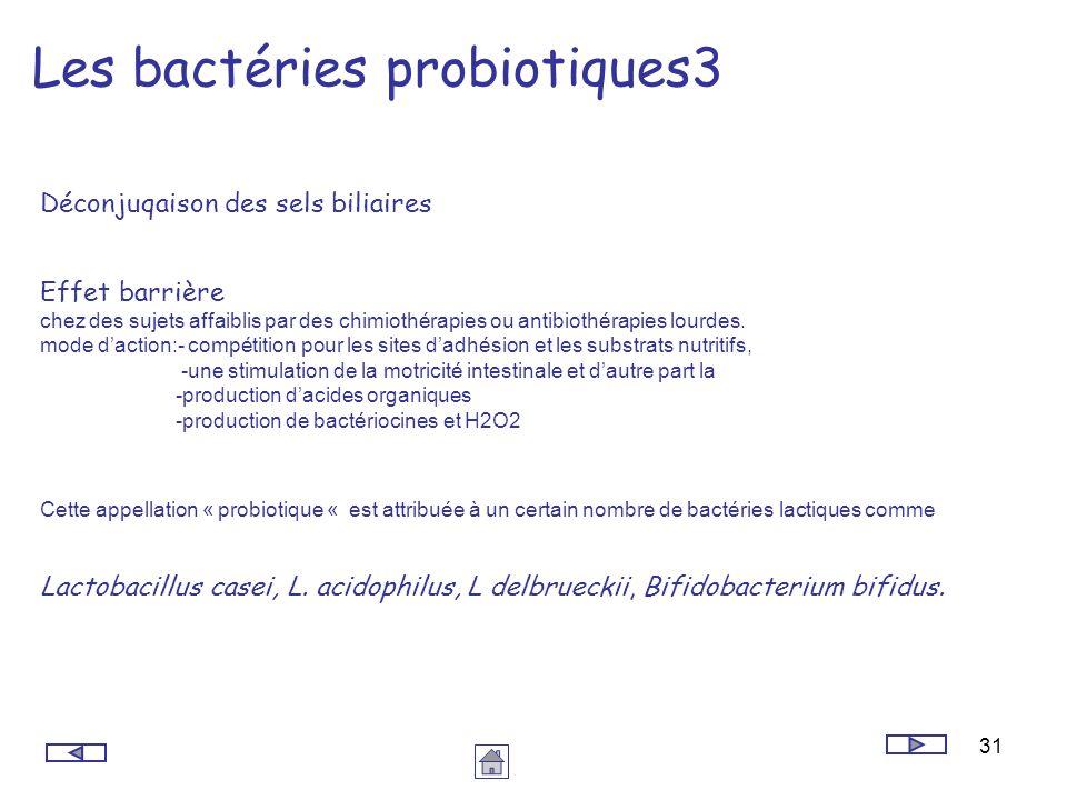 Les bactéries probiotiques3