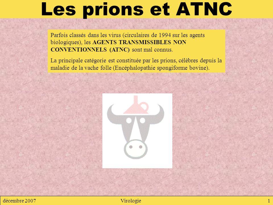 Les prions et ATNC