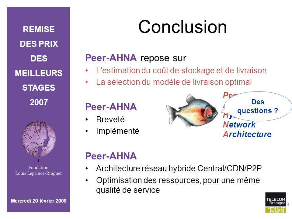 Conclusion Peer-AHNA repose sur Peer-AHNA