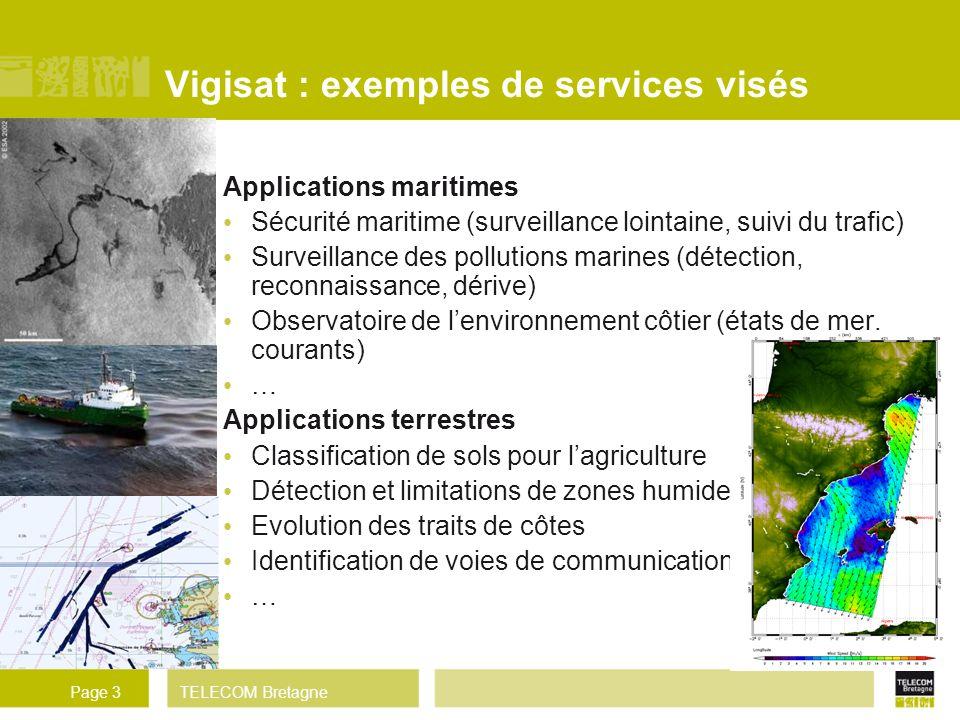 Vigisat : exemples de services visés