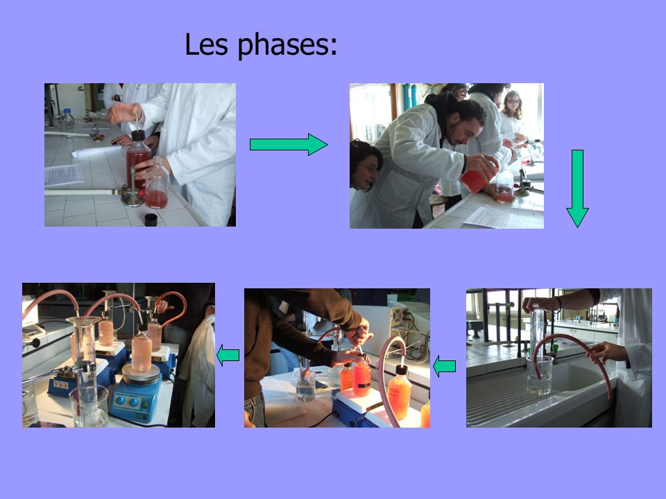 Les phases: