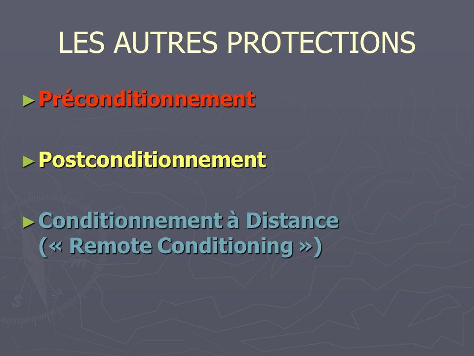 LES AUTRES PROTECTIONS