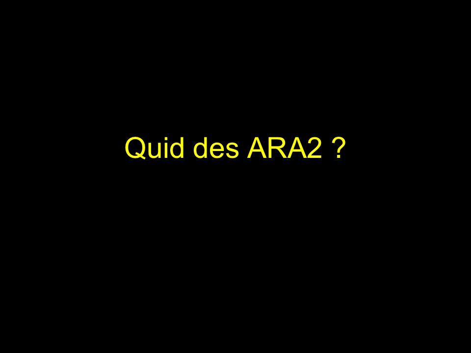 Quid des ARA2
