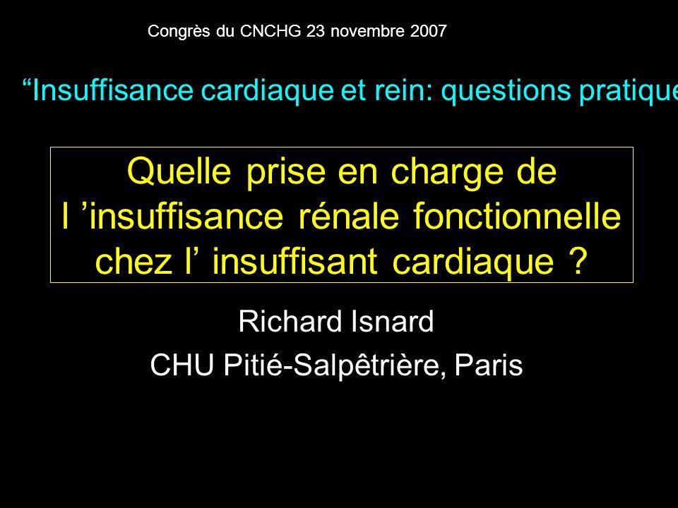 Richard Isnard CHU Pitié-Salpêtrière, Paris