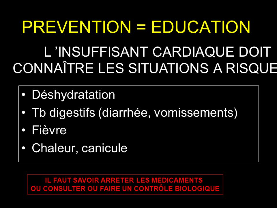 PREVENTION = EDUCATION
