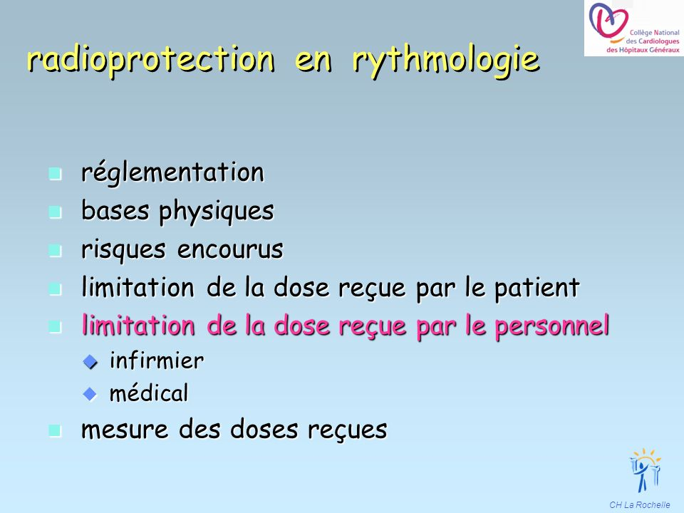 radioprotection en rythmologie