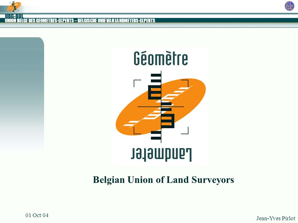 Belgian Union of Land Surveyors