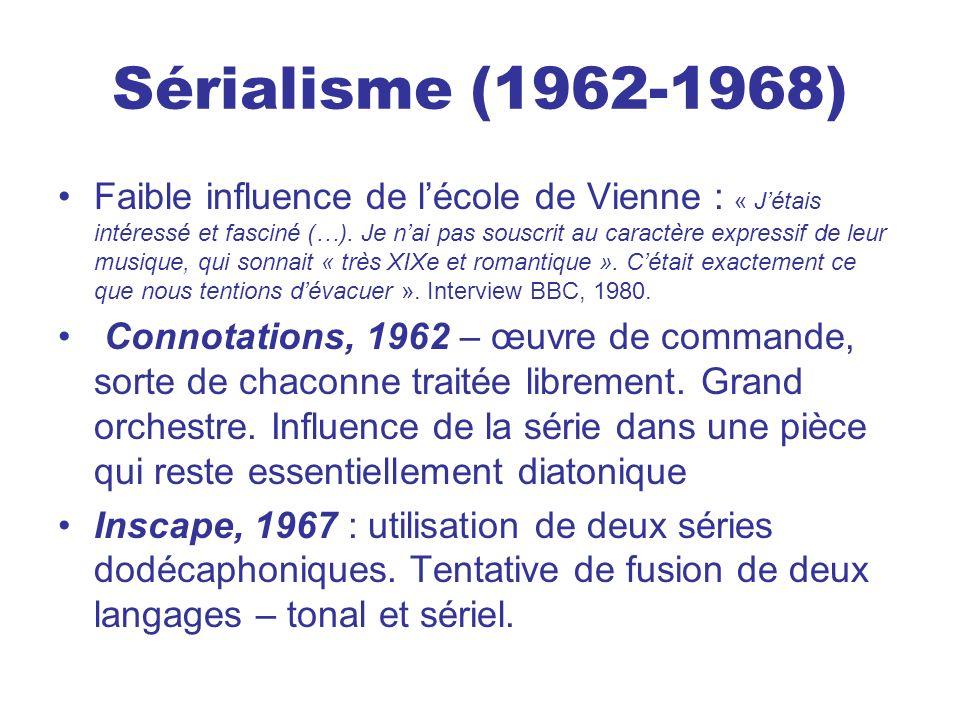 Sérialisme (1962-1968)