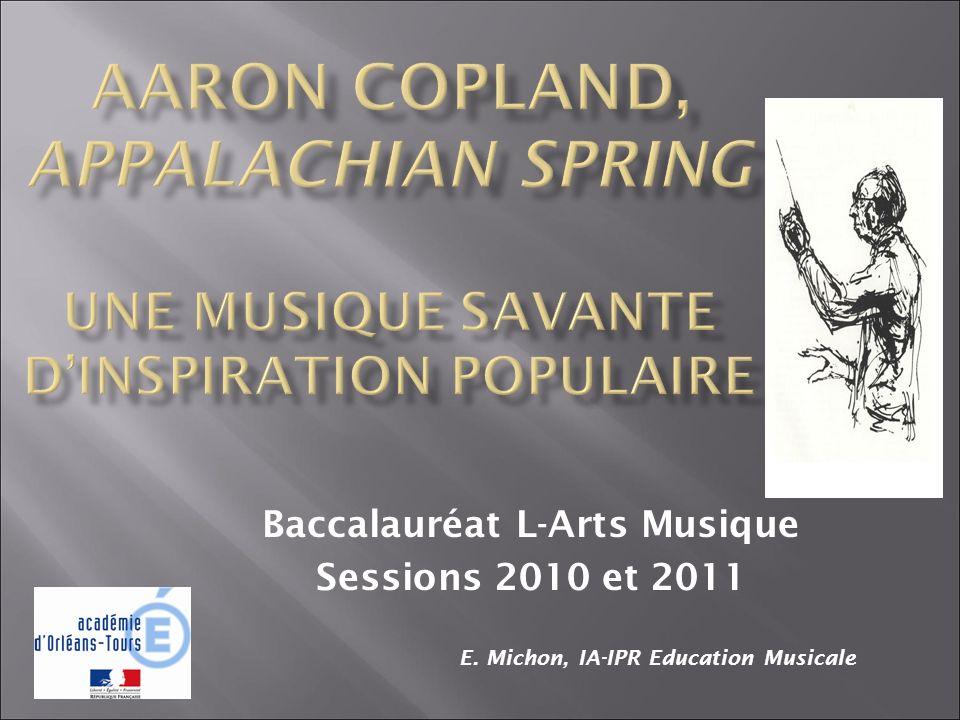 Baccalauréat L-Arts Musique Sessions 2010 et 2011