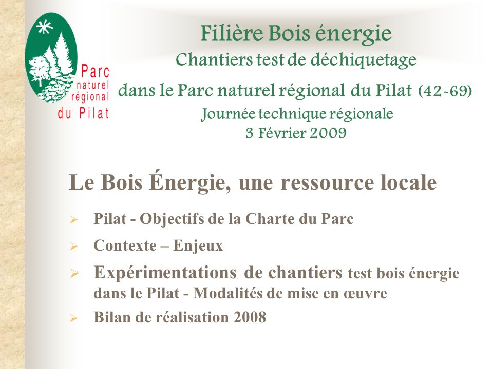 Le Bois Énergie, une ressource locale