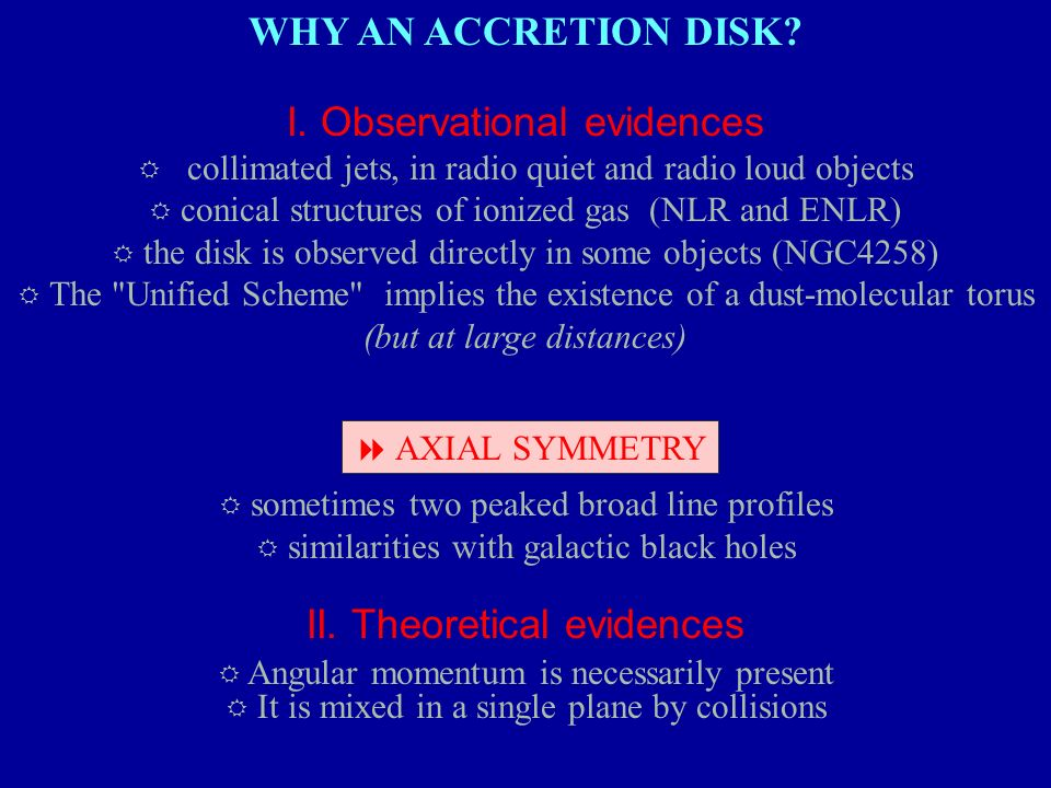 I. Observational evidences