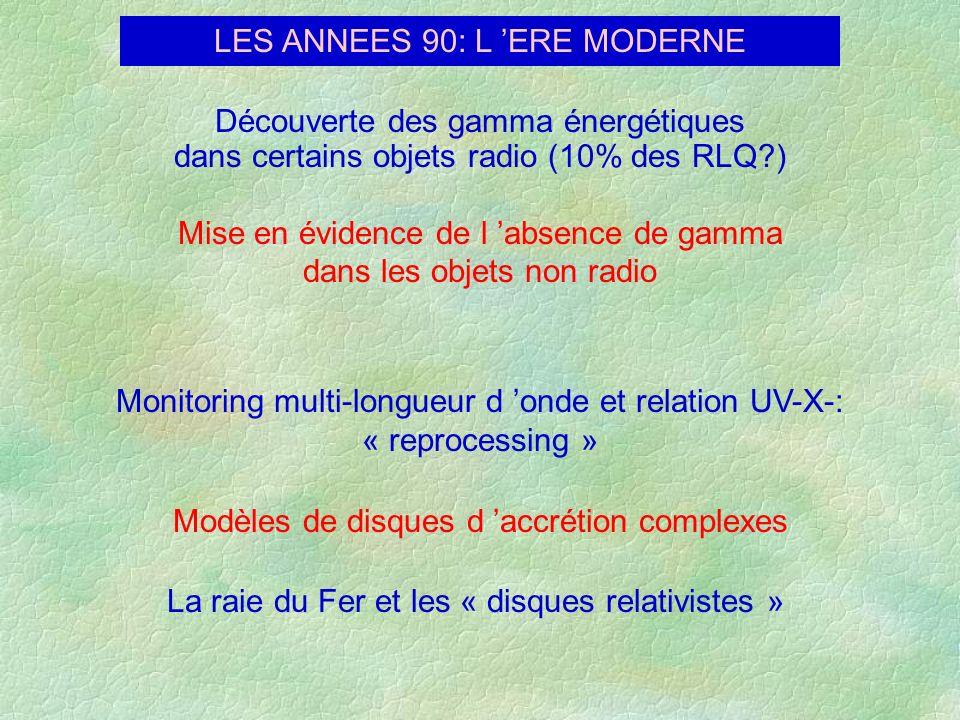 LES ANNEES 90: L 'ERE MODERNE