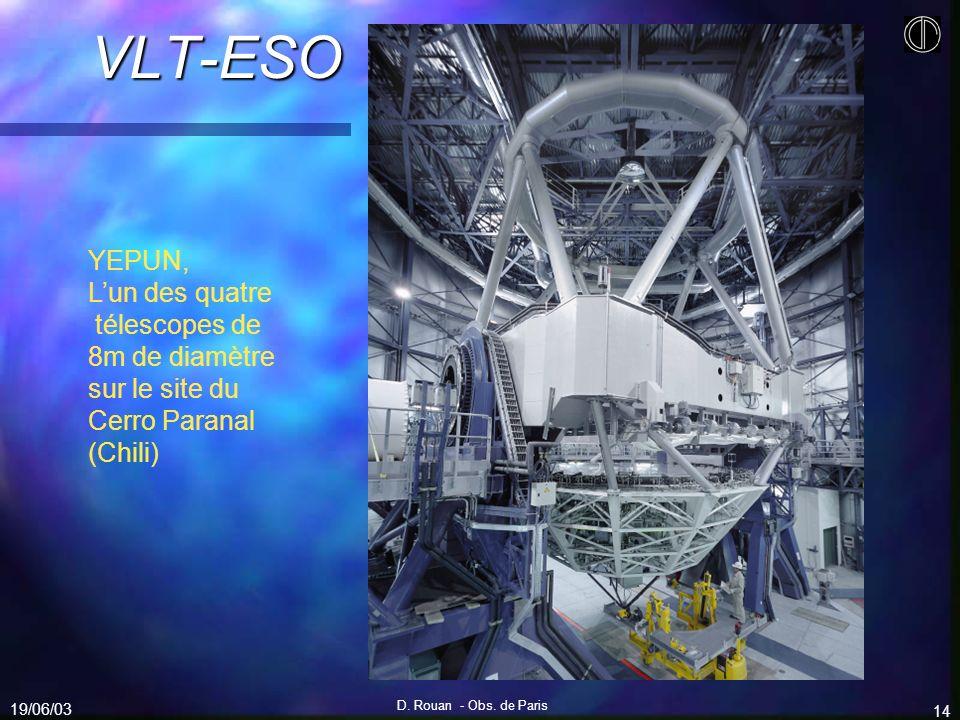 VLT-ESO YEPUN, L'un des quatre