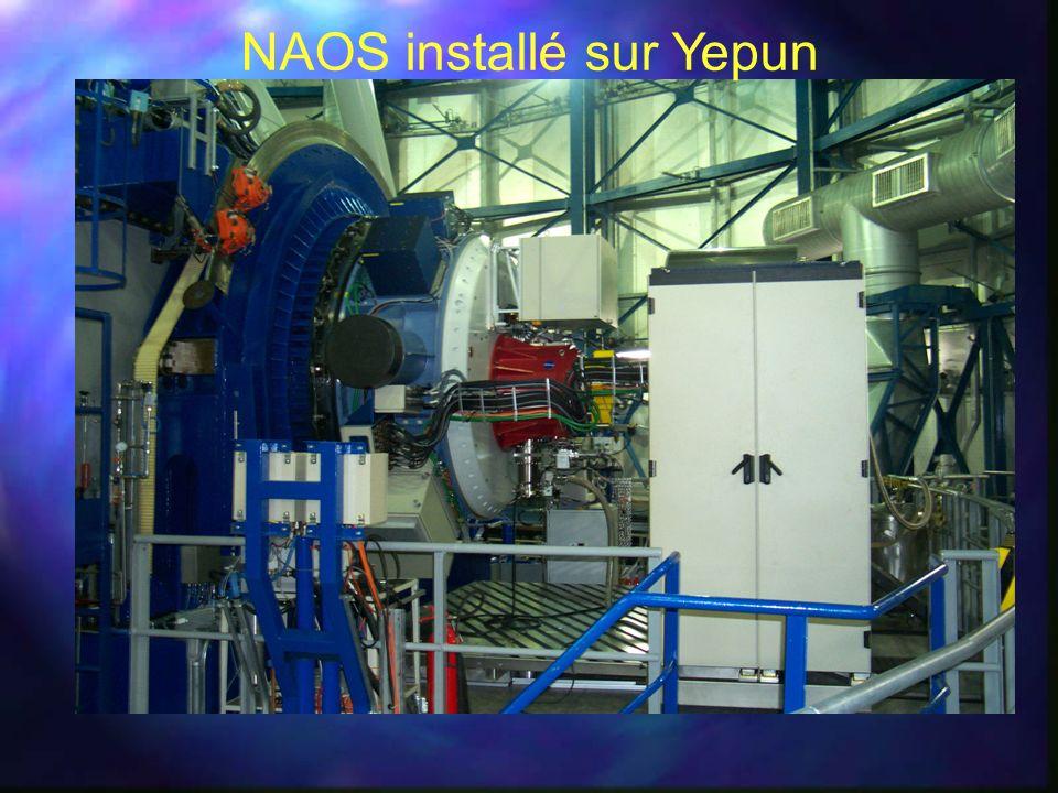 NAOS installé sur Yepun