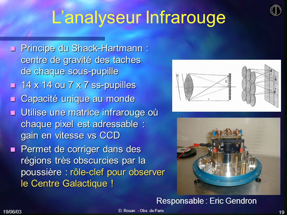 L'analyseur Infrarouge