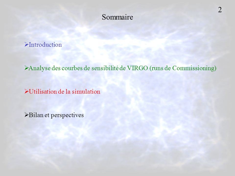 2 Sommaire Introduction