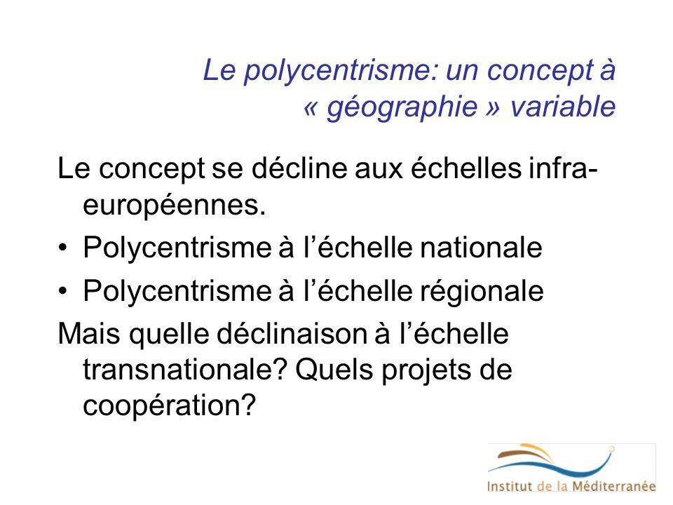 Le polycentrisme: un concept à « géographie » variable