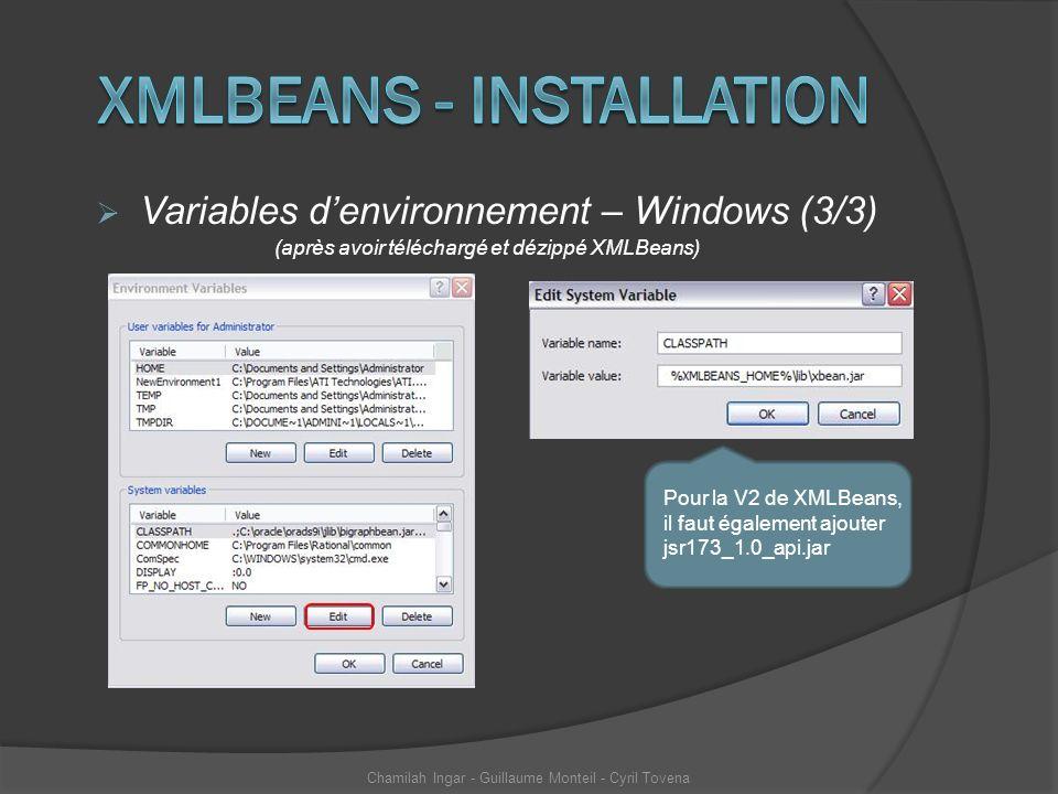 Xmlbeans - installation