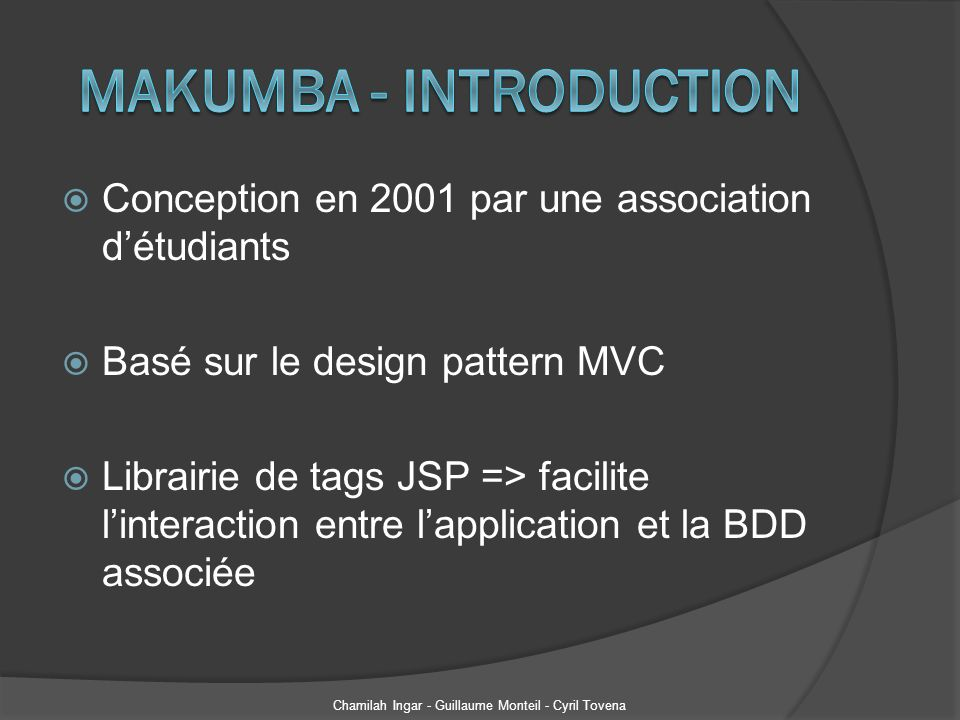 Makumba - Introduction