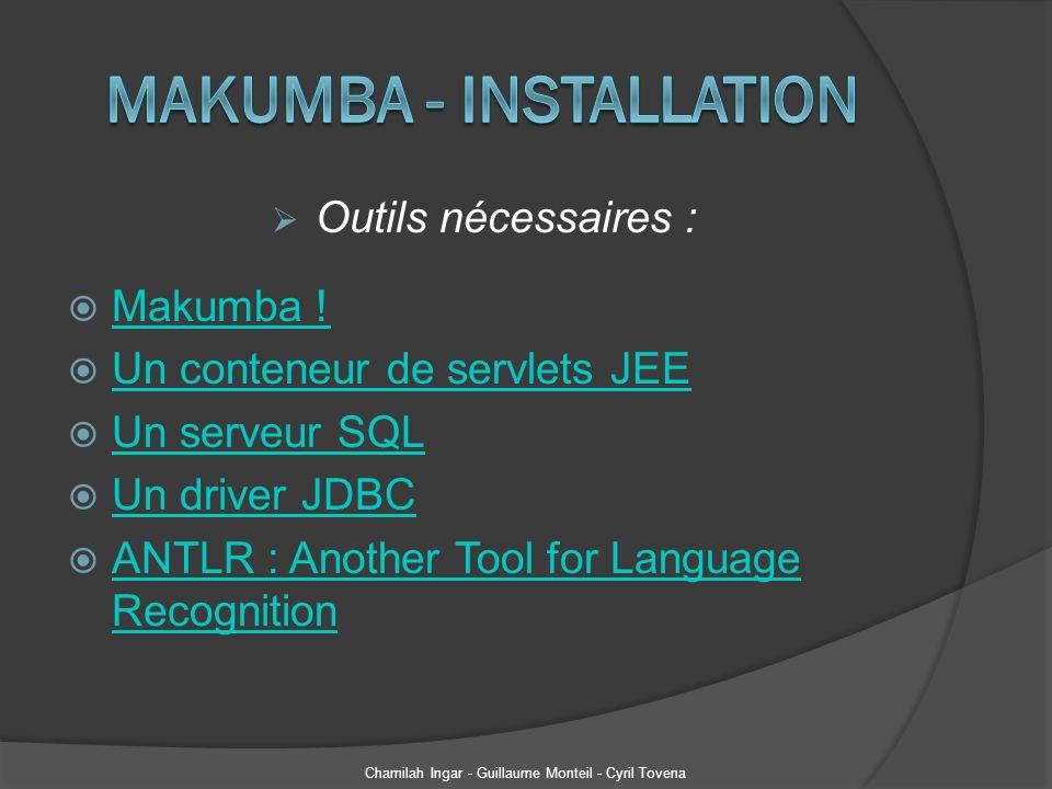 Makumba - Installation