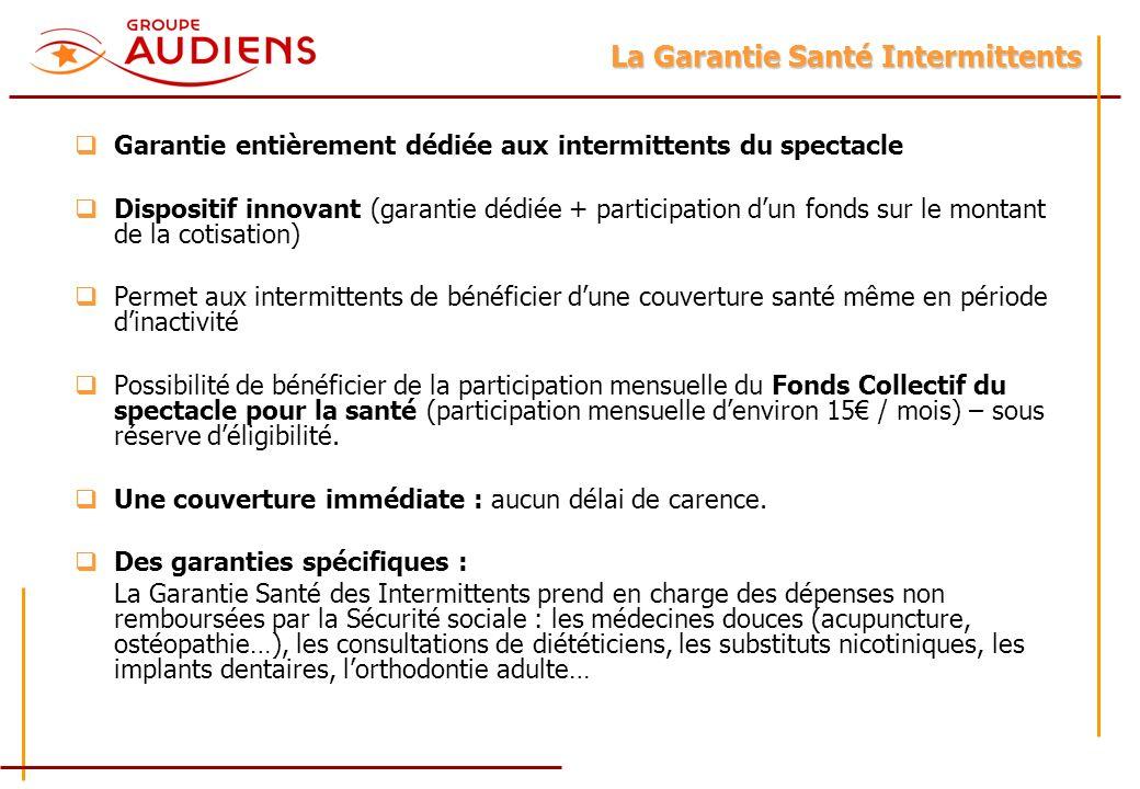 La Garantie Santé Intermittents