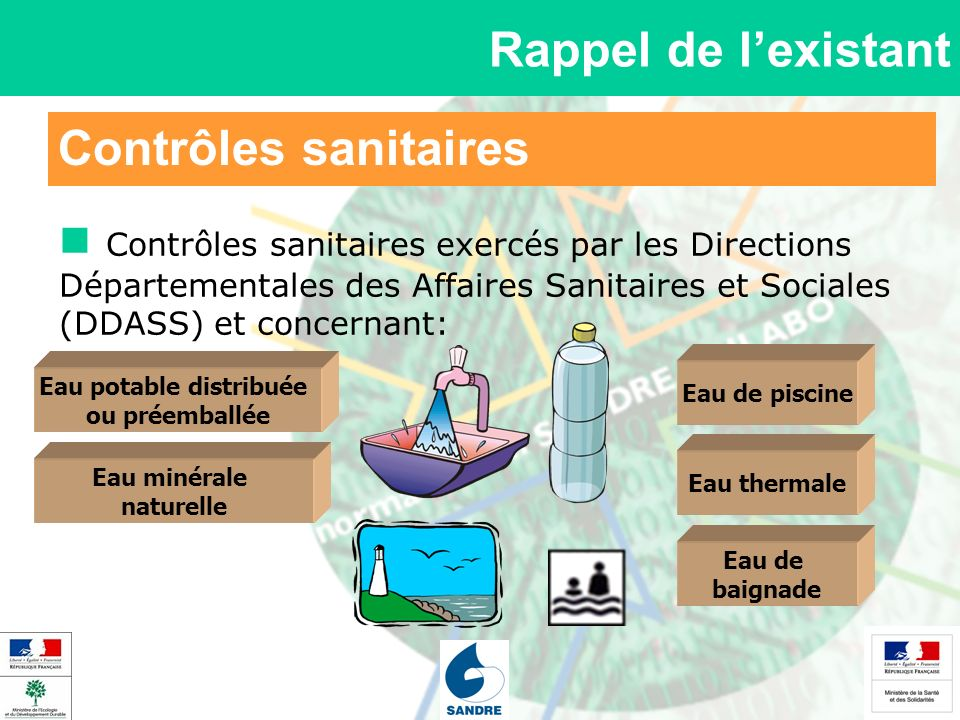 Eau potable distribuée