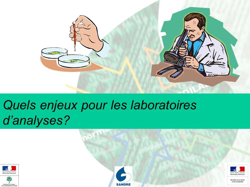 Quels enjeux pour les laboratoires d'analyses