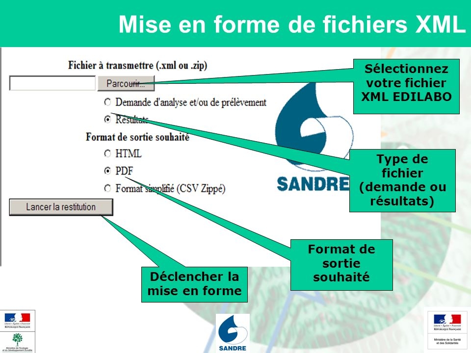 Mise en forme de fichiers XML