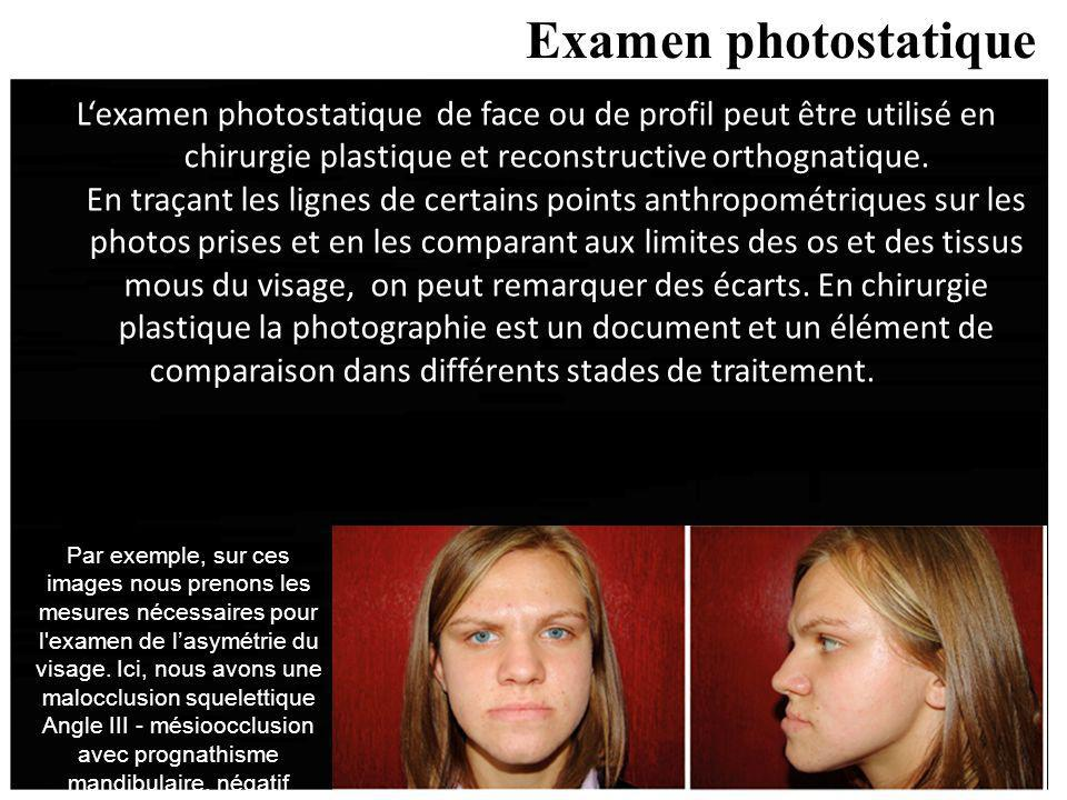 Examen photostatique
