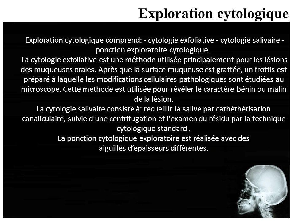 Exploration cytologique