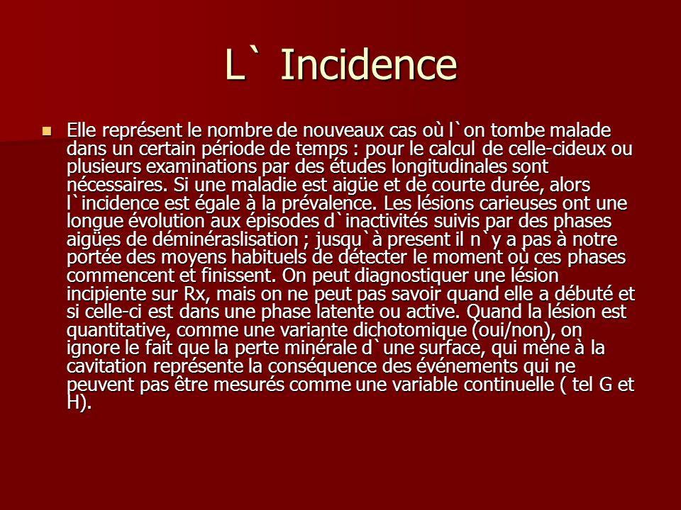 L` Incidence