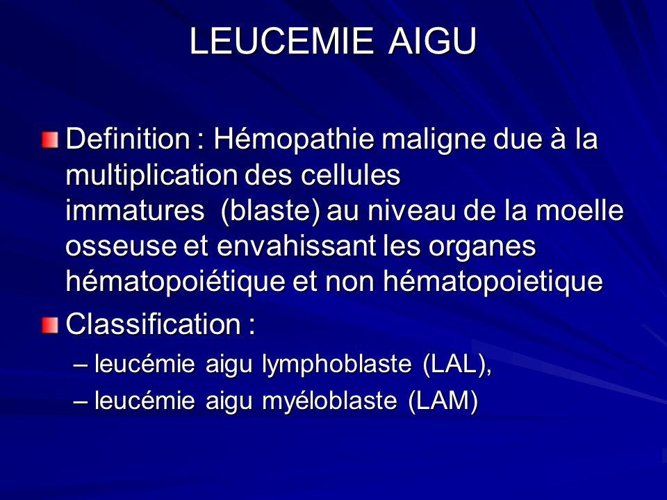 LEUCEMIE AIGU