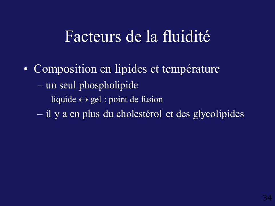Facteurs de la fluidité