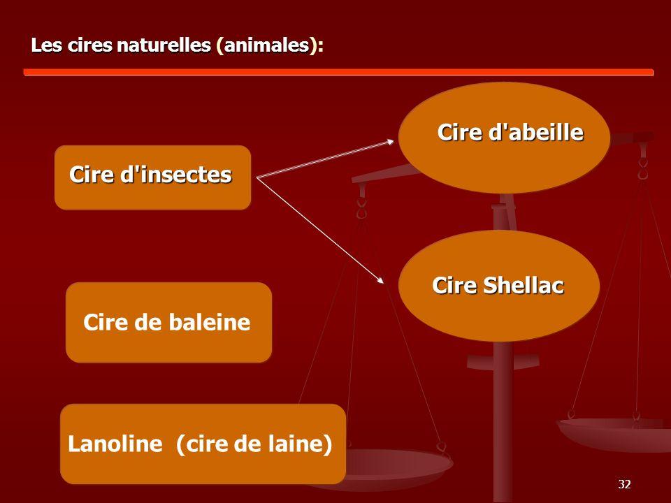Lanoline (cire de laine)