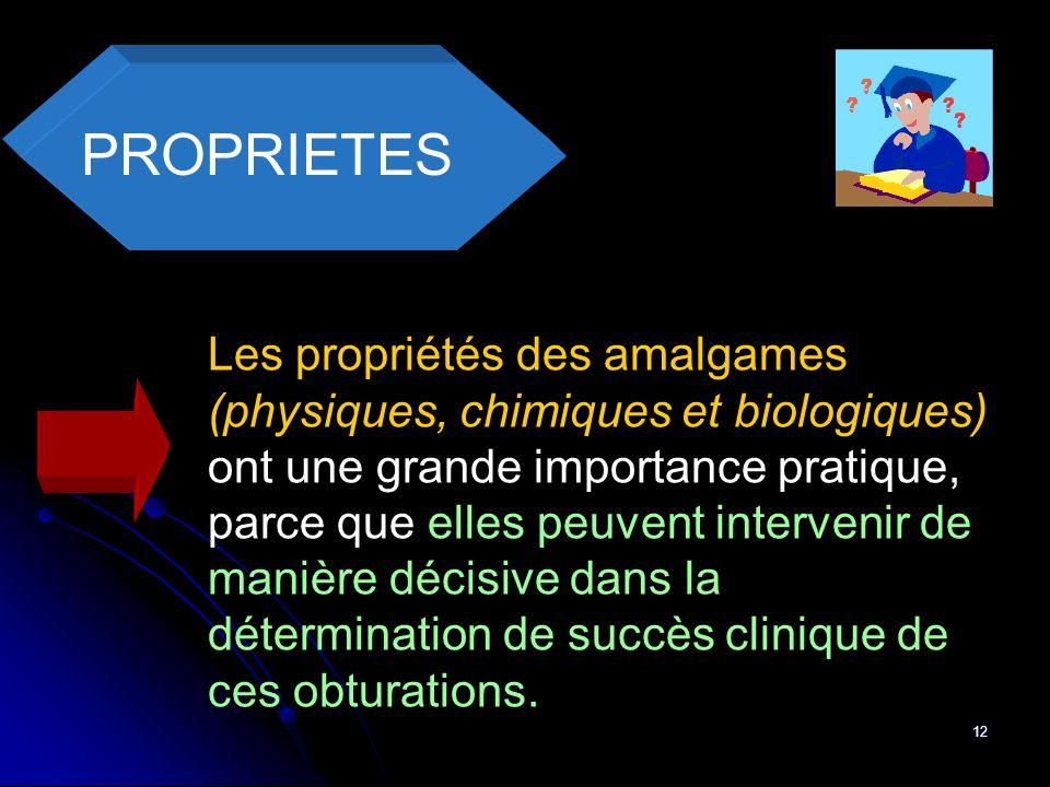 PROPRIETES
