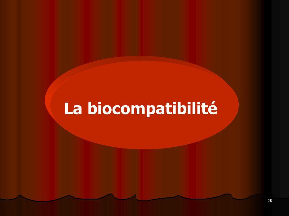 La biocompatibilité