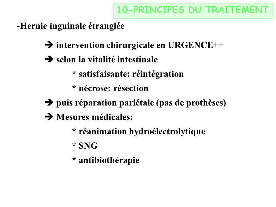 10-PRINCIPES DU TRAITEMENT
