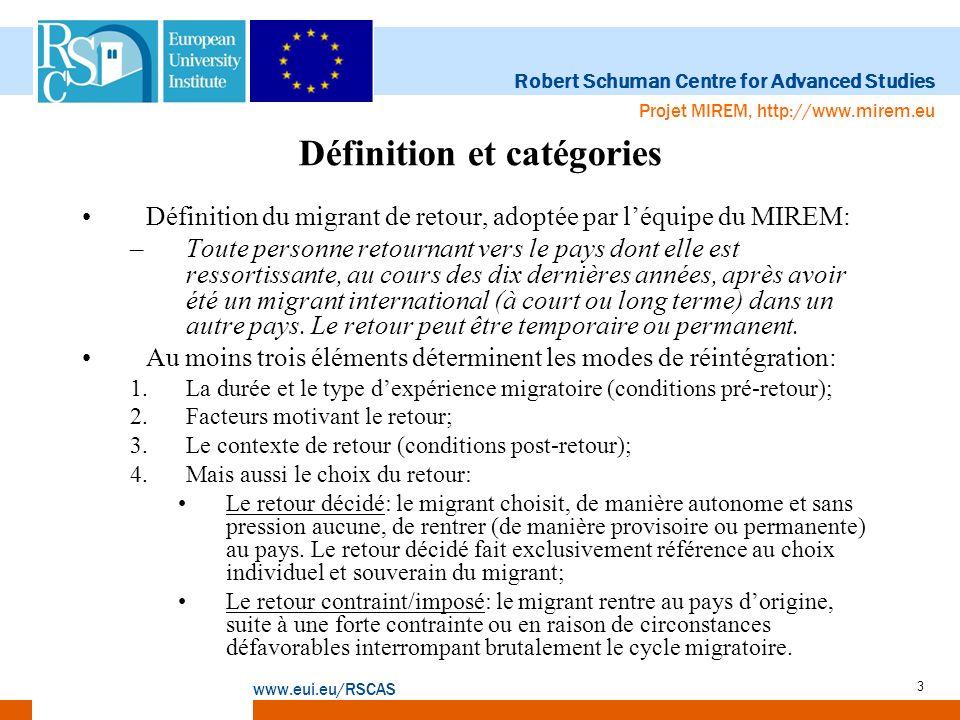 Définition et catégories