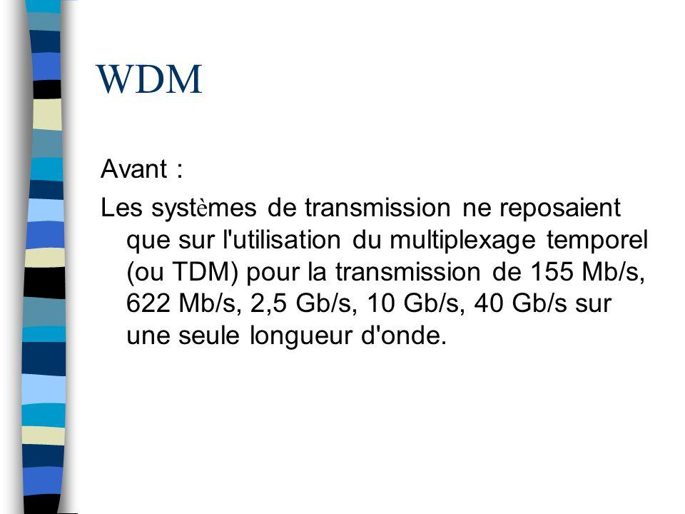 WDM Avant :