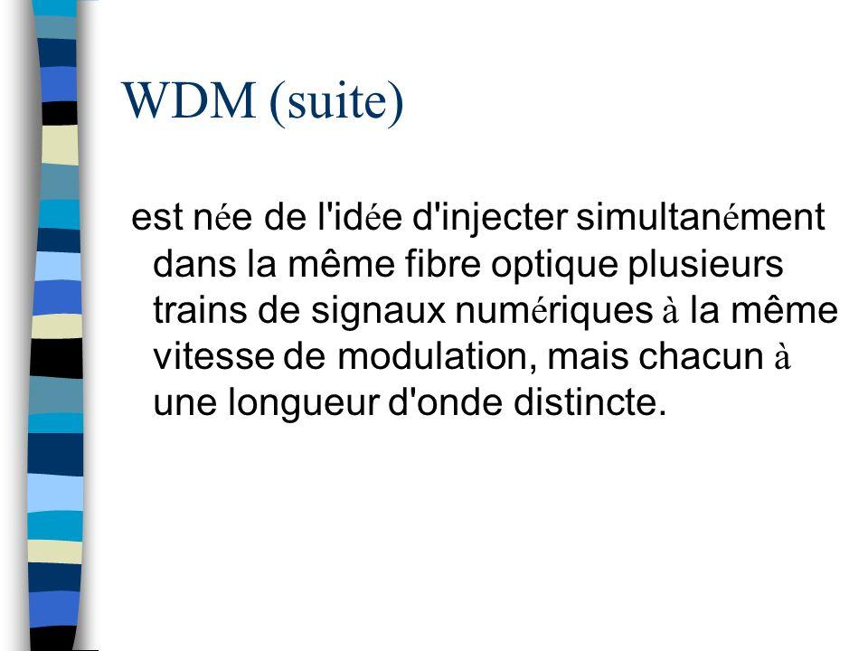 WDM (suite)