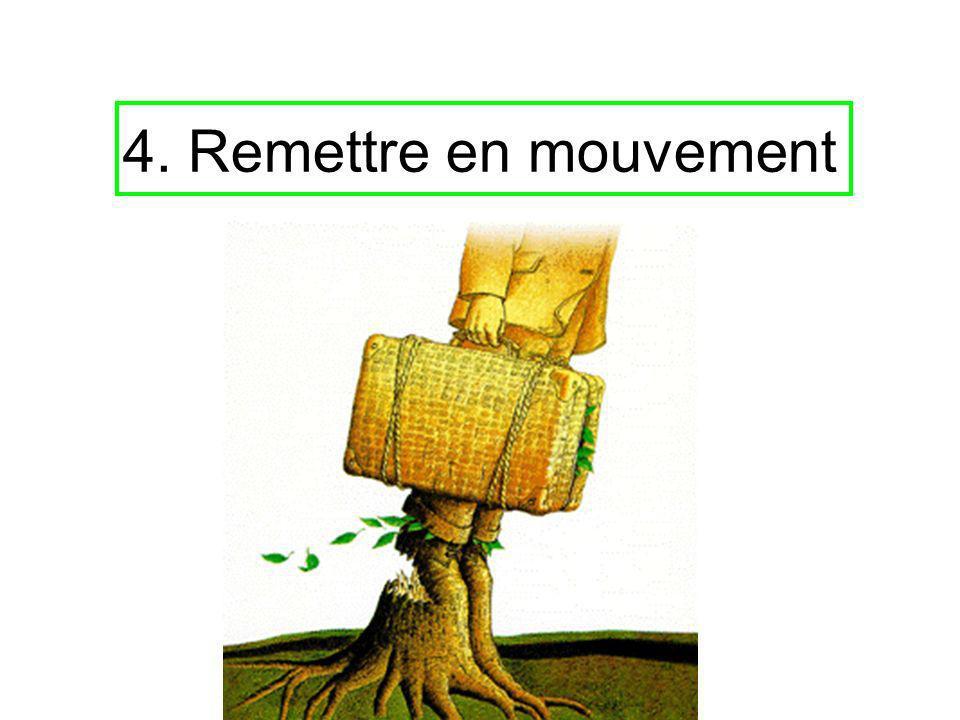 4. Remettre en mouvement