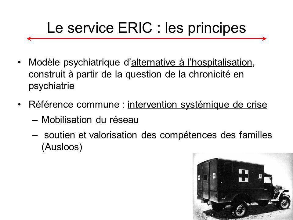 Le service ERIC : les principes
