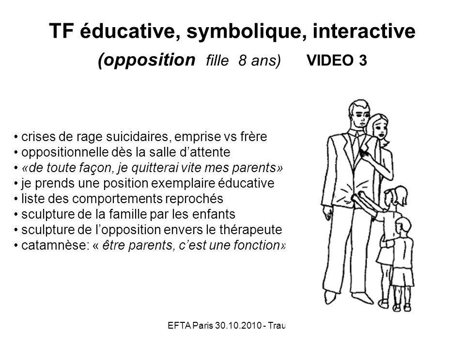 TF éducative, symbolique, interactive (opposition fille 8 ans) VIDEO 3