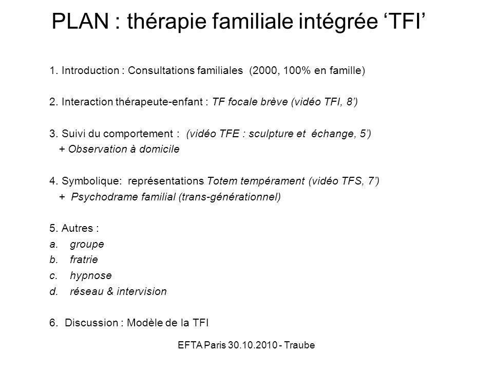 PLAN : thérapie familiale intégrée 'TFI'