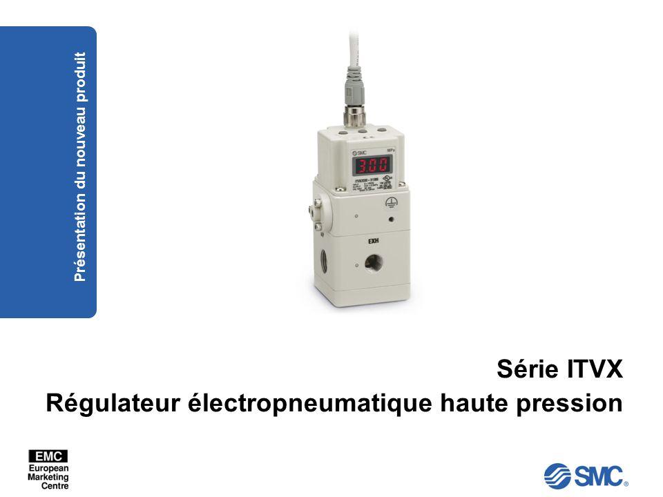 Série ITVX Régulateur électropneumatique haute pression