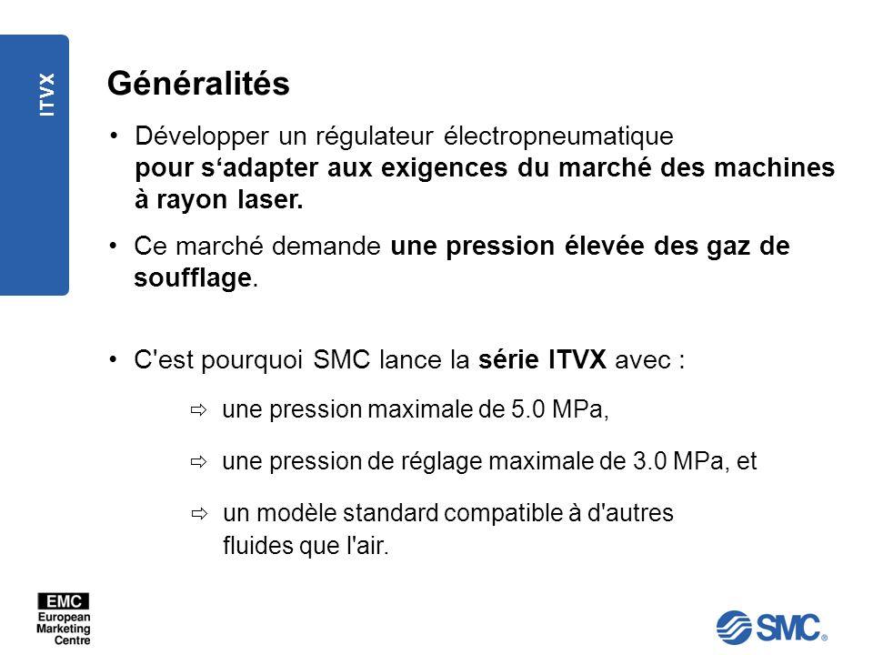 Généralités Développer un régulateur électropneumatique pour s'adapter aux exigences du marché des machines à rayon laser.